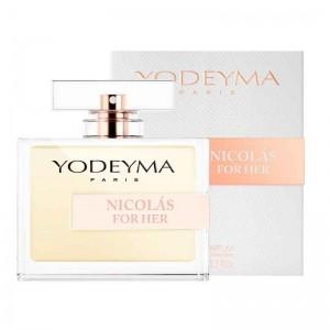 yodeyma eau de parfum nicolas for her 100ml