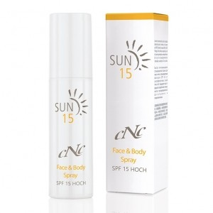 CNC Sun Face & Body Spray SPF15 100ml