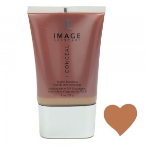 IMAGE I conceal flawless foundation SPF 30 suede