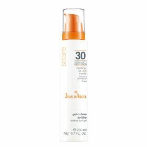 JEAN D'ARCEL gel-crème solaire LSF 30 200ml